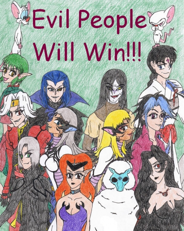 Evil People Will Win! (remake)