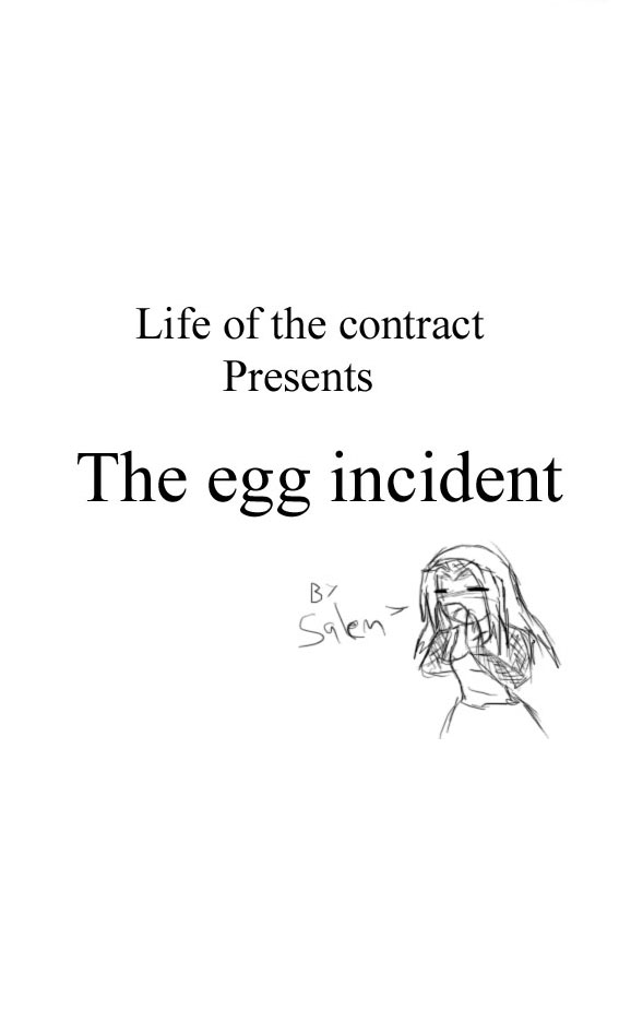 The egg incident