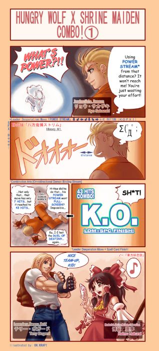 Garou X Miko Combo: Translated!