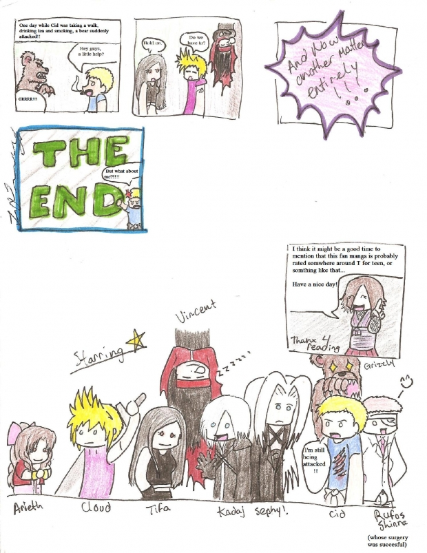 Final Fantasy Advent Children: Alternate Ending