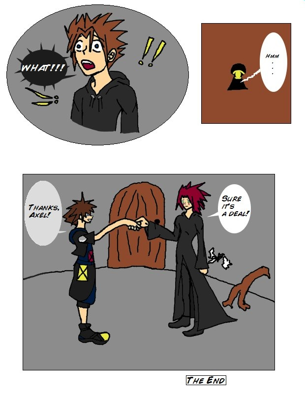 KHShorts: Axel makes a Deal!?