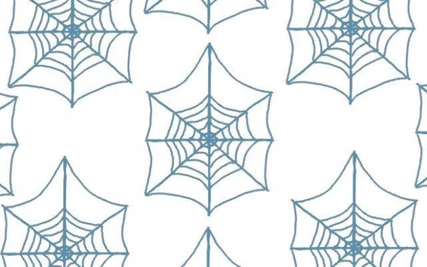 How to Draw Spider Cob Webs