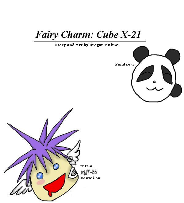 Fairy Charm: Cube X-21 -PriSm EdiTioN-