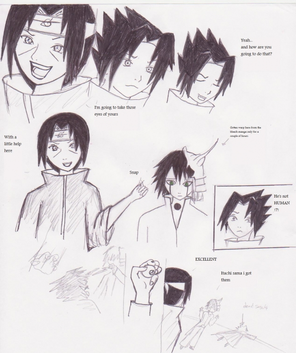 Itachi Vs Sasuke Twist!
