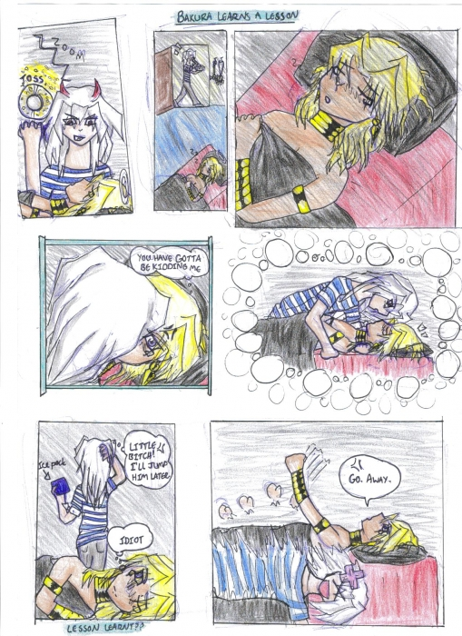 Bakura Learns A Lesson