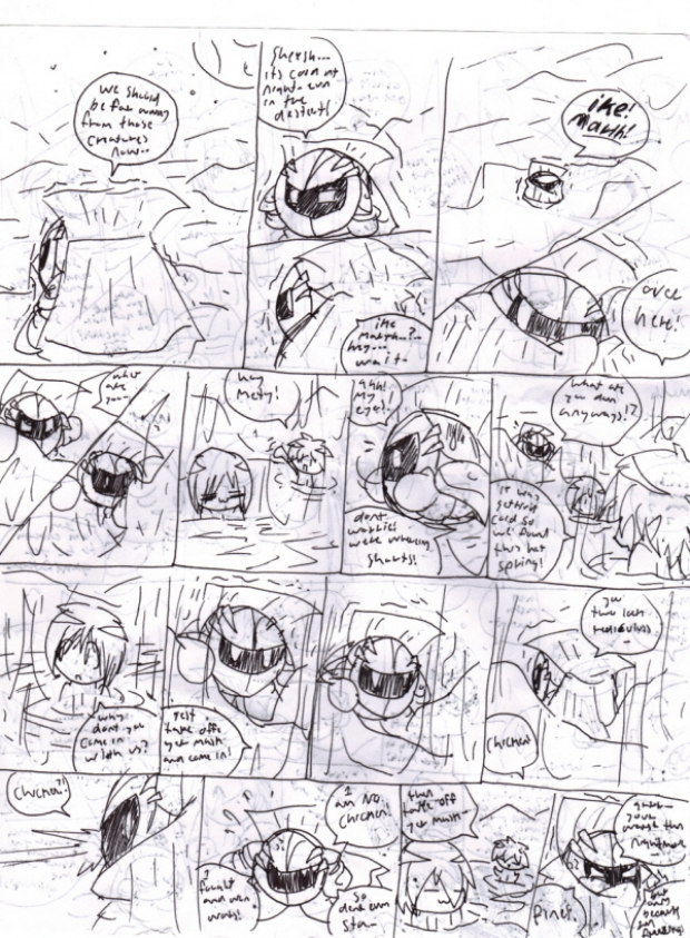 meta knight comic 1/2