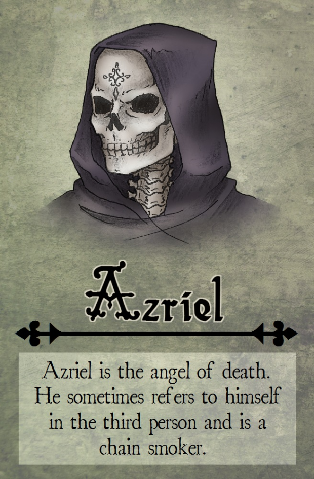 Azriel Comic Card