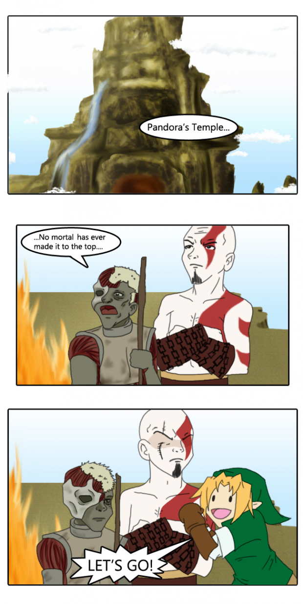 The Legend of Kratos