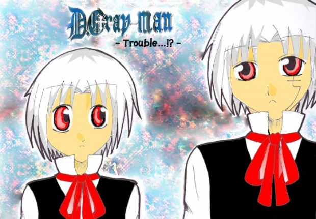 D.gray-man : Trouble...!?