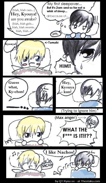 Sleepover With Tamaki...