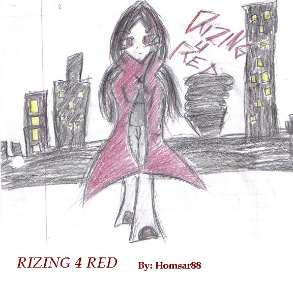 Rizing For Red