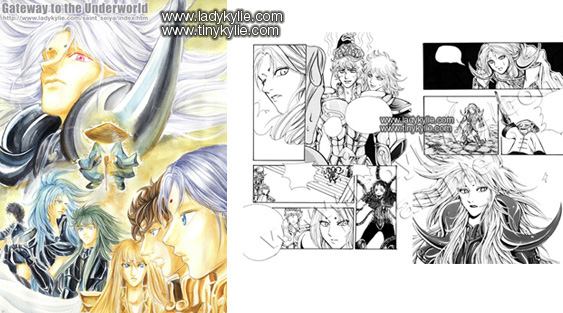 Saint Seiya Fan Art Comic
