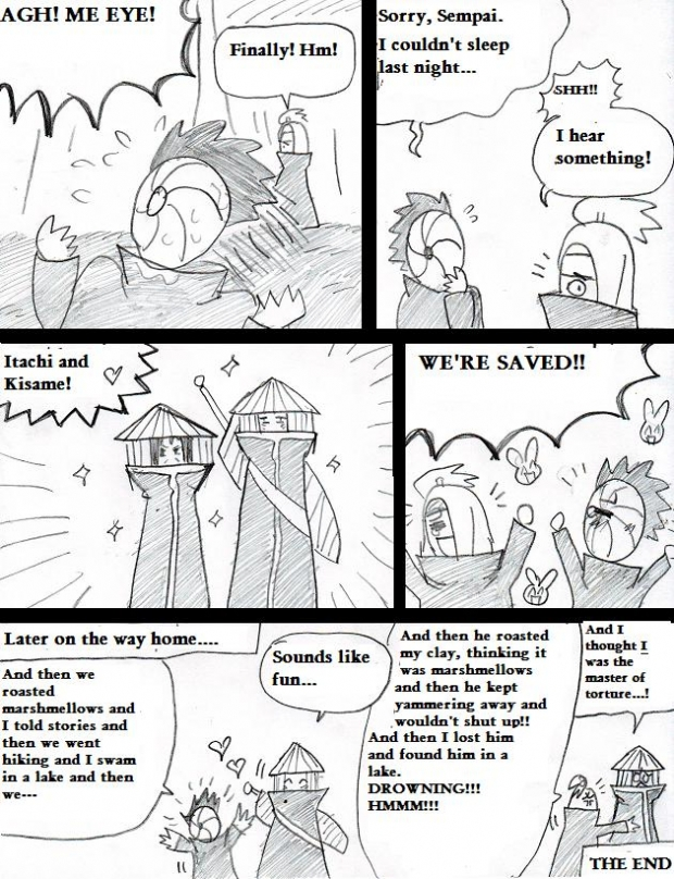 Camping With Tobi And Deidara