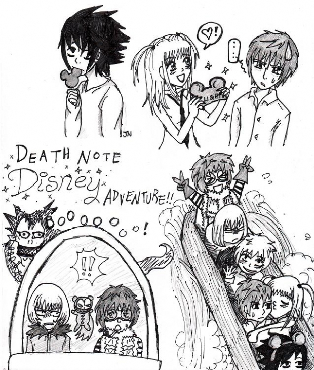 Death Note Random-ness