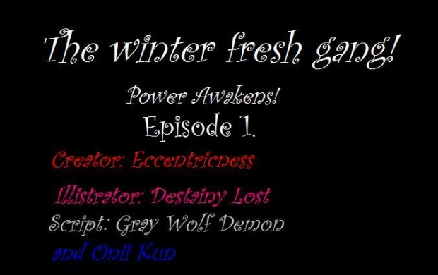 The Winter Fresh gang!