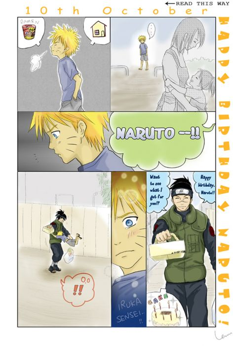 Naruto's Birthday