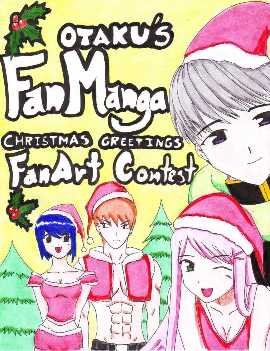 Fanmanga Christmas Fanart Contest