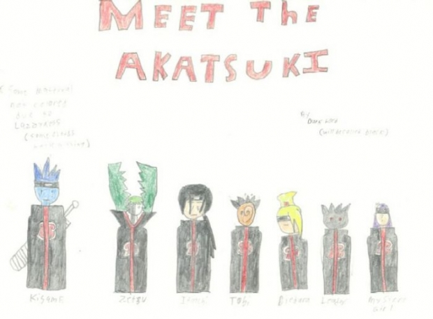 Meet The Akatsuki