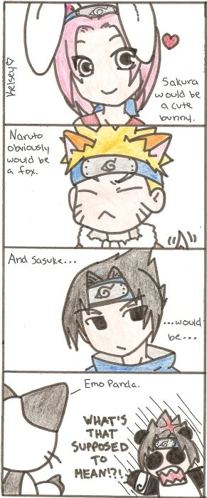 If Naruto Characters Were Animals..