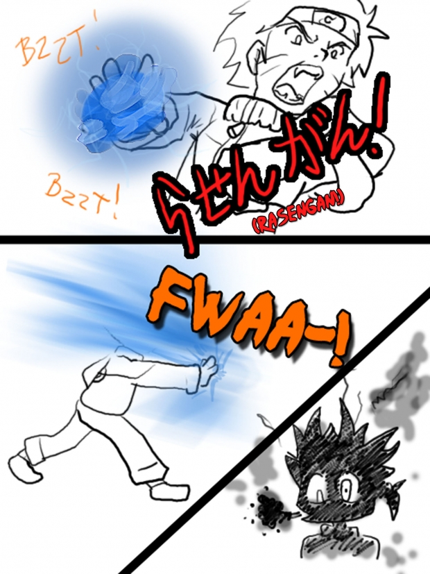 Rasengan BACKFIRE
