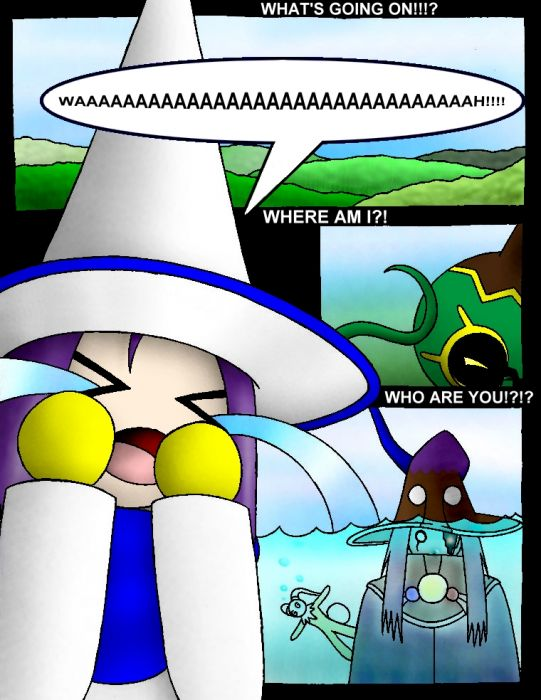 The Summoned: Comic 3