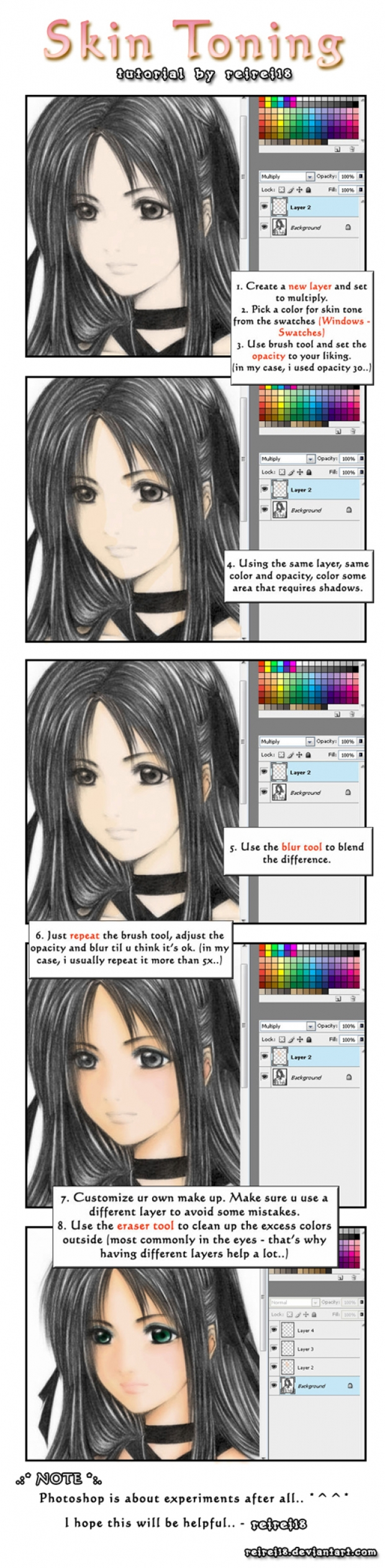TUTO :: Photoshop Coloring