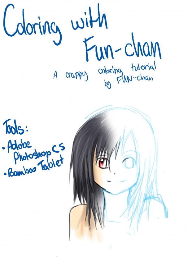 Fun-chan's coloring tutorial