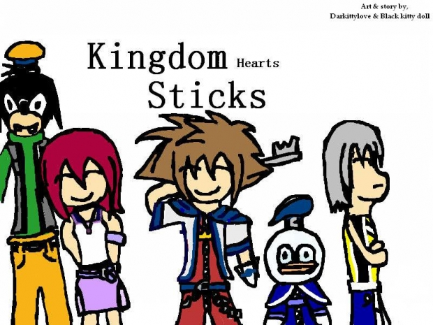 Kingdom Hearts Sticks