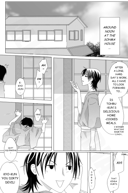 [Fruits Basket] Just A Little Misunderstanding