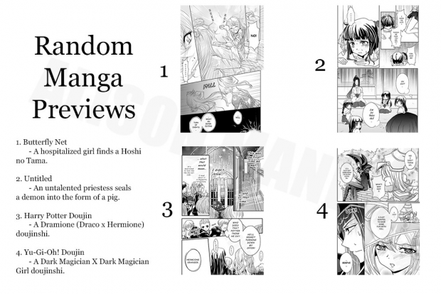 Random Manga Previews