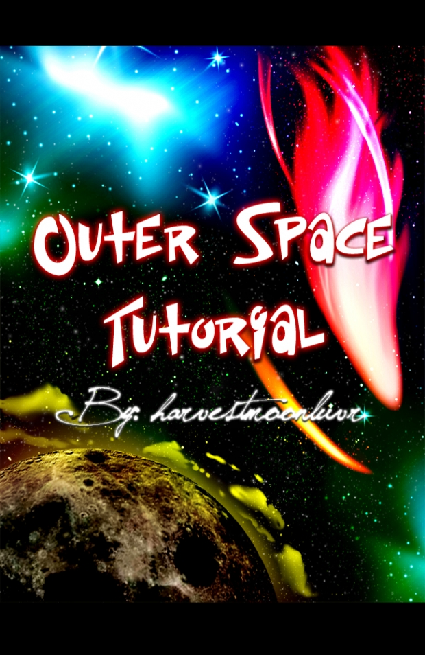 Outer Space Tutorial ~harvestmoonluvr