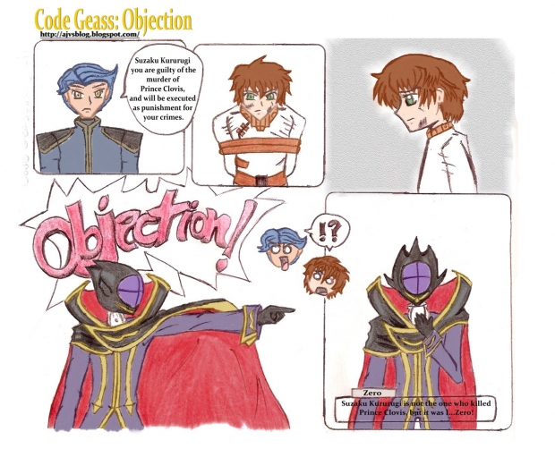 Code Geass: Objection!