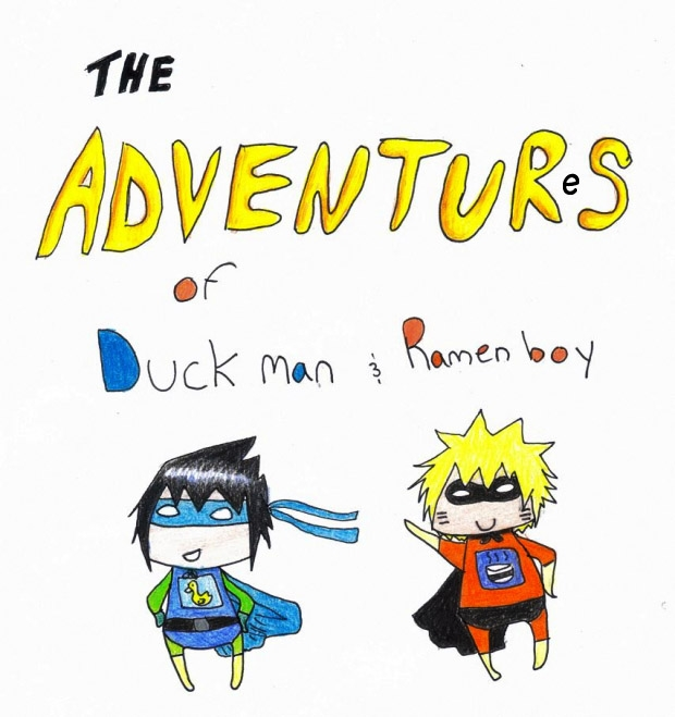 The Adventures of Duck man and Ramen boy