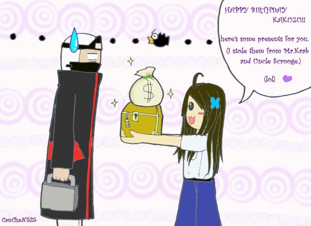 Happy Bday Kakuzu^^