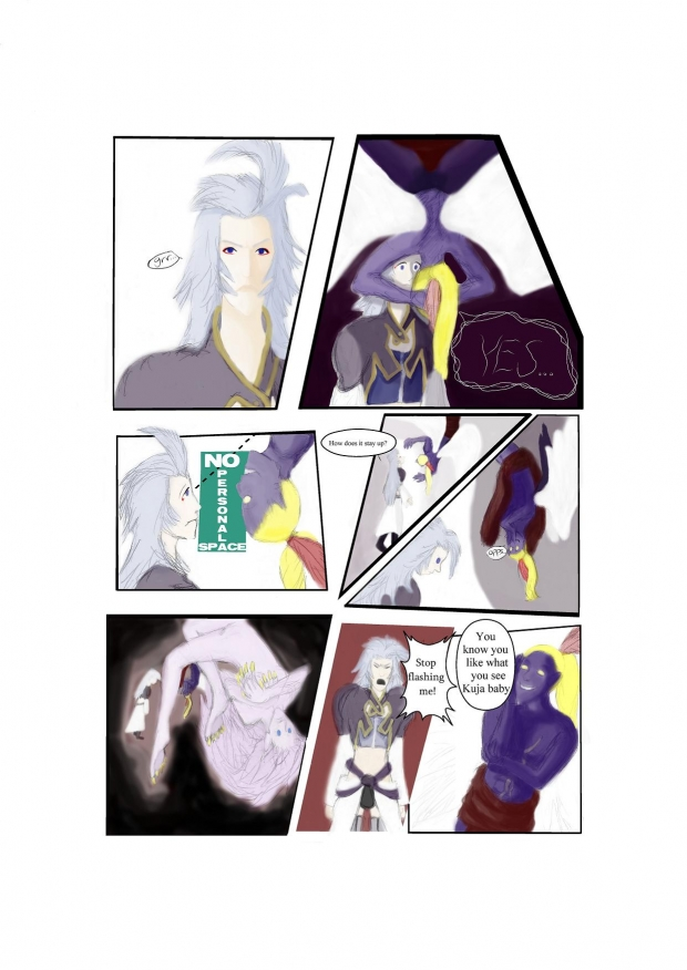 Kefka comic time part 2