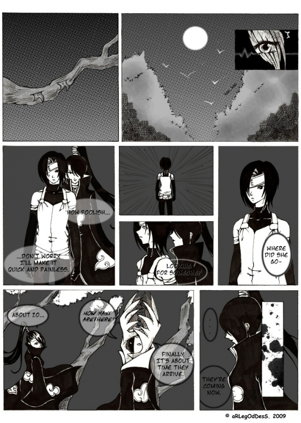Hurting Inside- An ItachixOC Doujin
