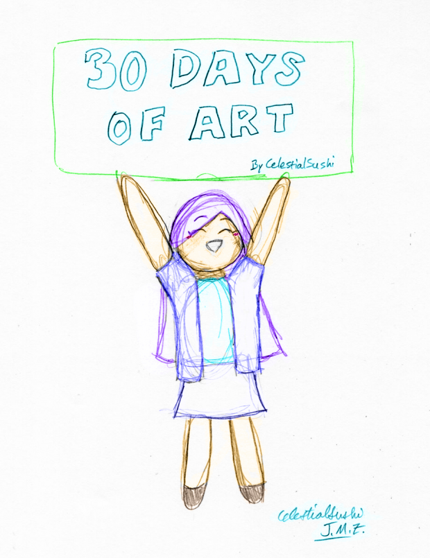 30 Days of (Celestial) Art