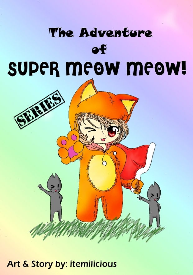 the adventure of super meow-meow!