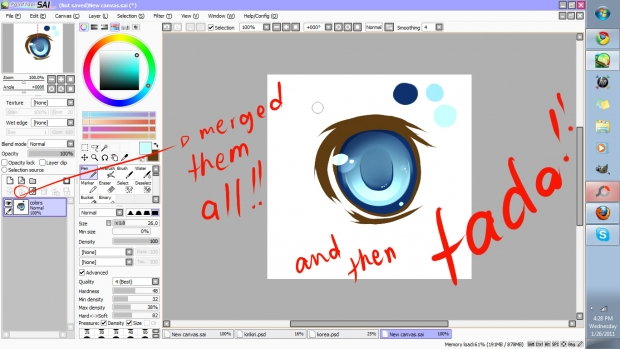 temi's eye tutorial