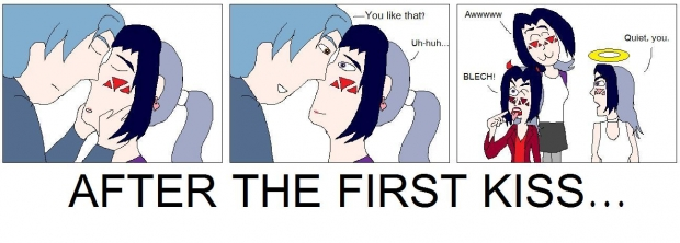 After The First Kiss...
