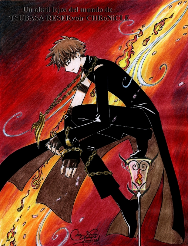 Un abril lejos del mundo de Tsubasa Reservoir Chronicle