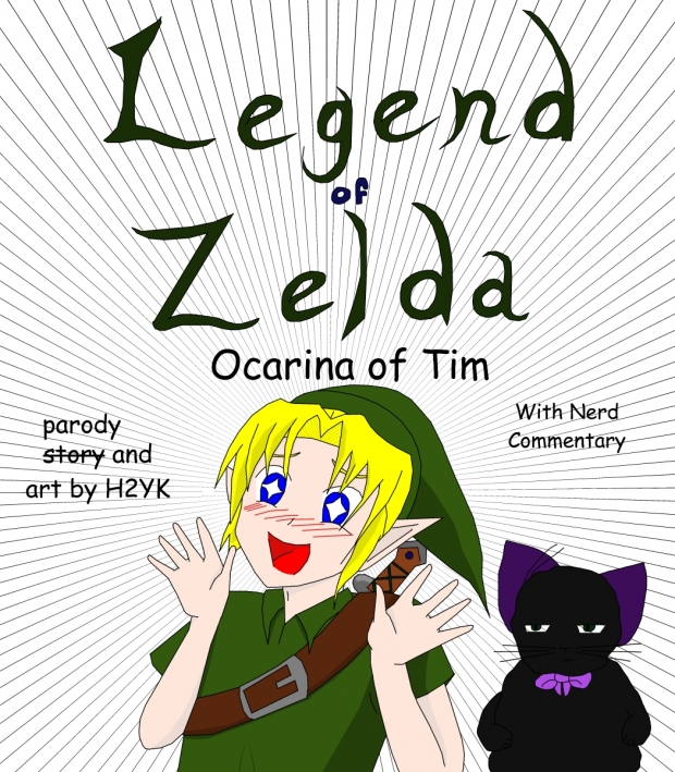 Legend of Zelda Ocarina of Tim
