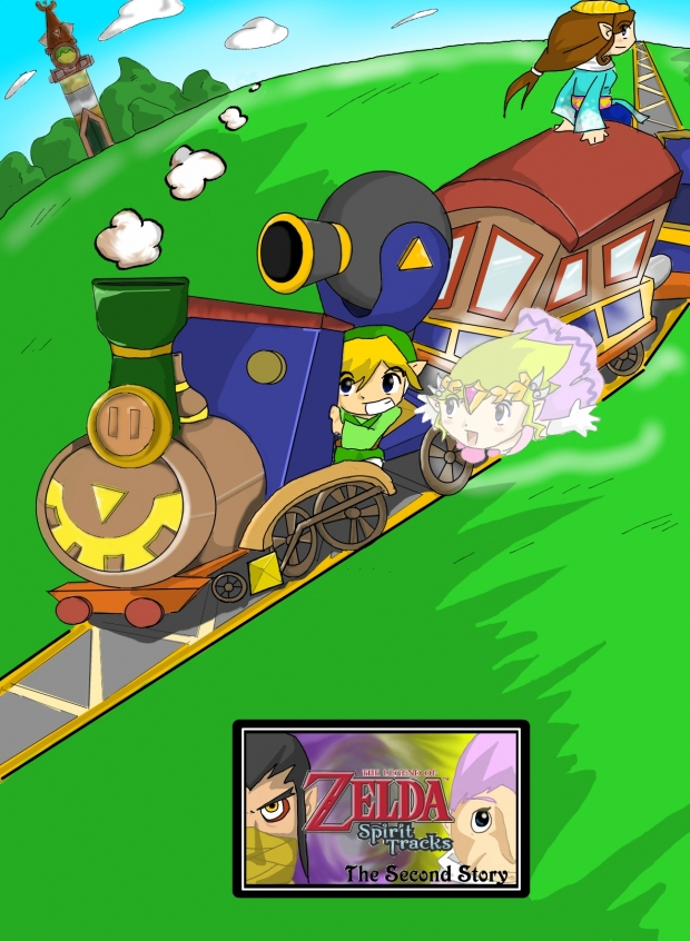 The Legend of Zelda: Spirit Tracks  .:The Second Story:.