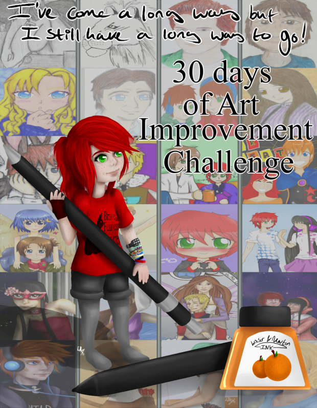 30 Day Art Improvement Challenge