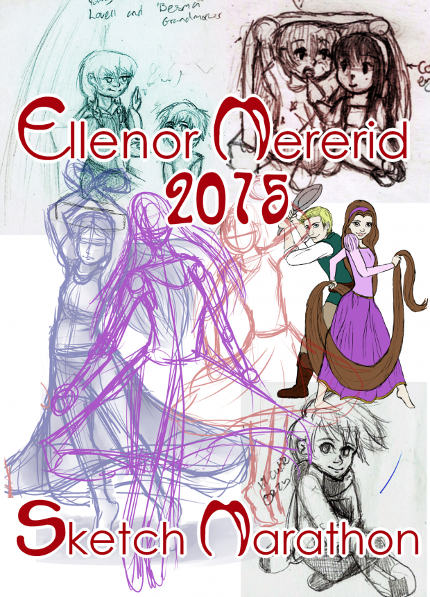 Ellenor's '15 sketch marathon