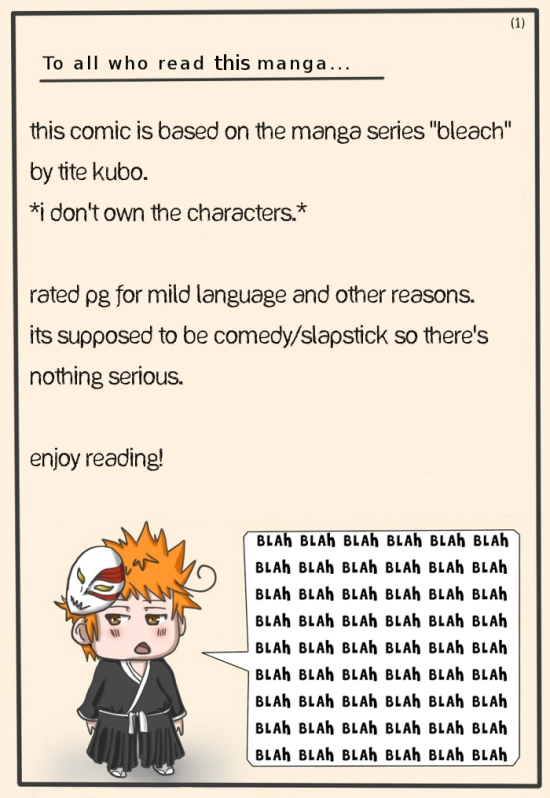 Bleach Unabridged