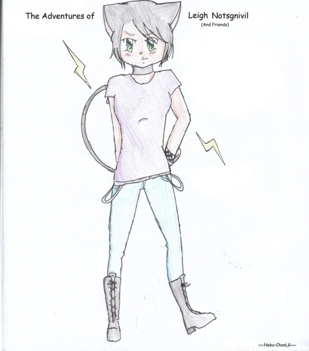 The Adventures of Leigh Notsgnivil (And Friends)