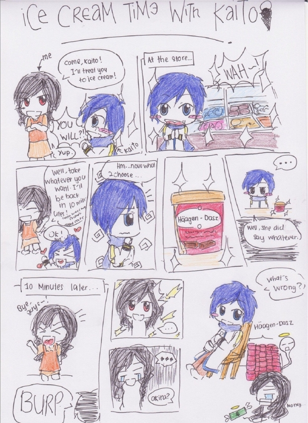 Ice Cream Time with Kaito