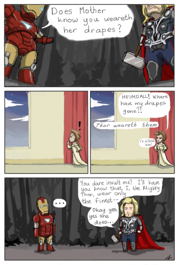 The Mighty Thor Wears Stuff