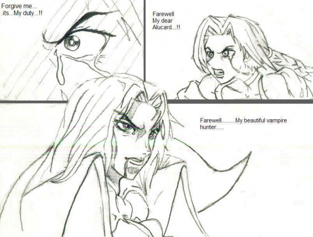 Alucard vs Sonia Belmont -Ending-